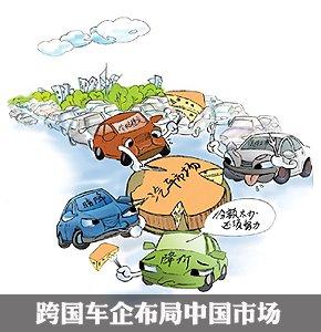 跨国车企布局中国市场