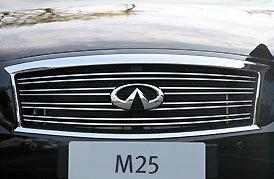 个性精英座驾 腾讯试驾英菲尼迪M25