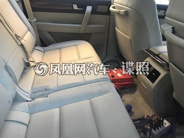 完爆路虎揽胜卡宴 红旗LS5谍照曝光