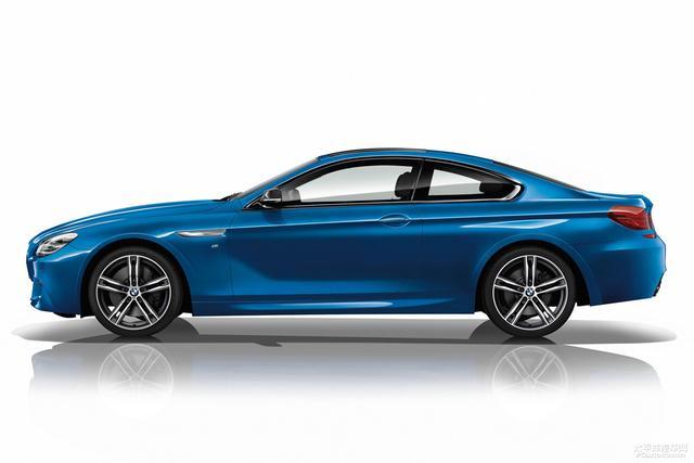 全新音速蓝涂装 宝马6系M运动型限量版