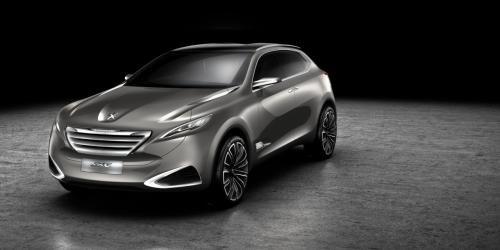 中国团队主导设计 标致SXC概念车上海首发