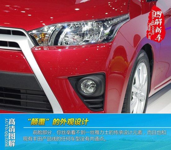 [图解新车]中国版新一代雅力士首发亮相
