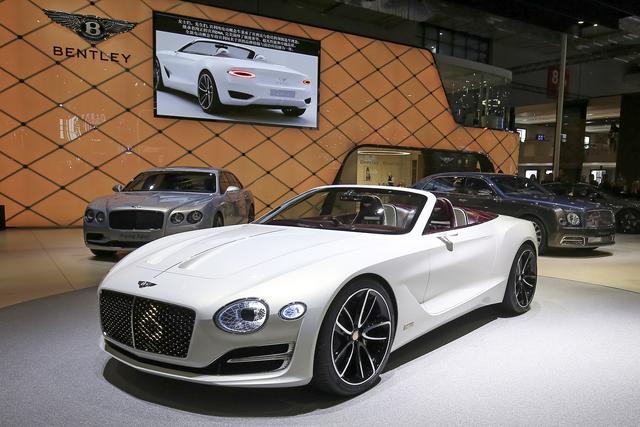 宾利汽车表态2017上海国际车展 定义超豪华电动汽车新概念