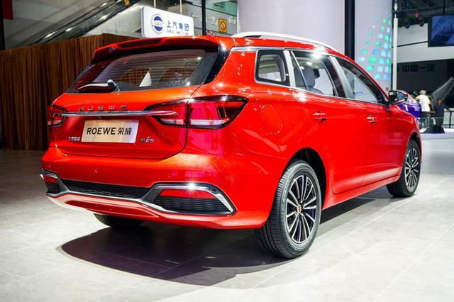 纯电旅行轿车荣威EI5亮相 开发细分市场