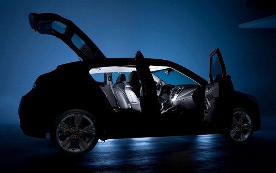 北美车展首发 现代新轿跑国内路试意外曝光