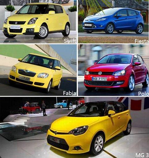 谁是a0级小车王 小型车对比导购