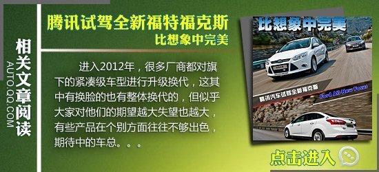 菲翔对比新福克斯 15万元运动三厢车对决