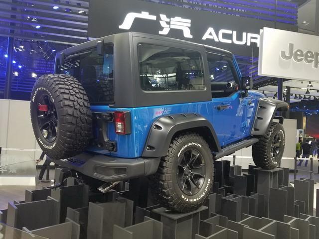 Jeep牧马人多款新车亮相展台 多项设置升级
