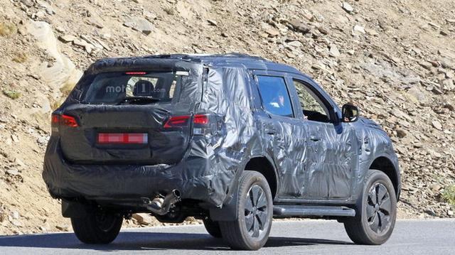日产纳瓦拉SUV最新谍照 或命名Xterra