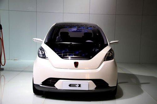 电动车入市大扫描 10款有望上市的国产车高清图片