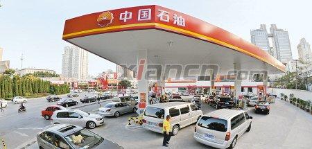 中国石油加油站_中石油劳动南路加油站增加车位减少排队