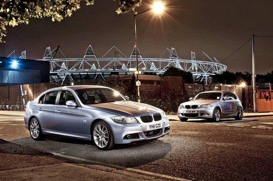 宝马为伦敦奥运会推出1系/3系特别版车型