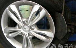IX35的轮胎大保养 老车友的简单的作业