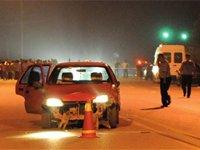 黑车司机醉驾撞伤17人