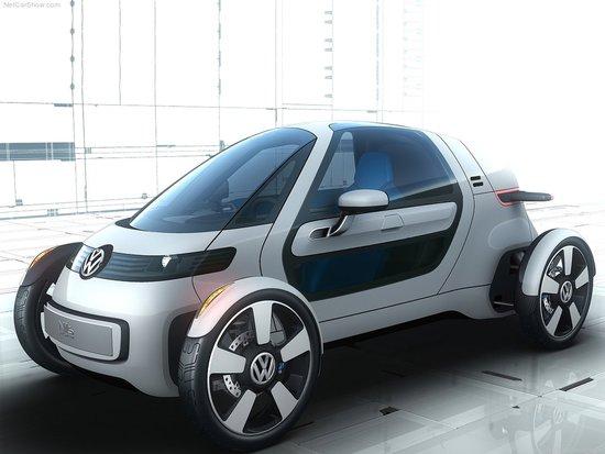 大众将推未来城市通勤概念车 法兰克福首发