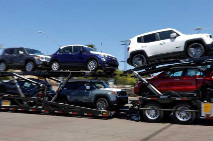 """美国商务部已向特?#21183;?#36882;交""""汽车进口影响美国国家安全?#21271;?#21578;"""