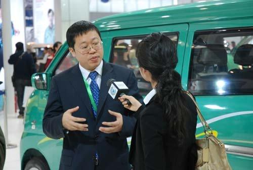 长安扬帆领航 微车航母闪耀2010北京车展