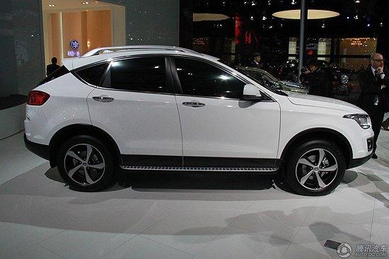 [新车解析]一汽奔腾X80亮相 将于5月上市