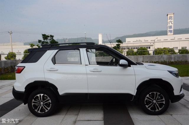 比速汽车首款SUV实车图 未来或命名BT3