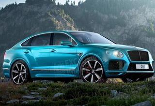 宾利将推出添越Coupe运动版概念车 运动SUV