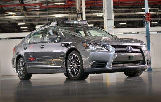 丰田将携最新自动驾驶汽车平台3.0亮相CES