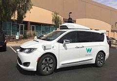 无需安全驾驶员就可测试 Waymo成加州首例