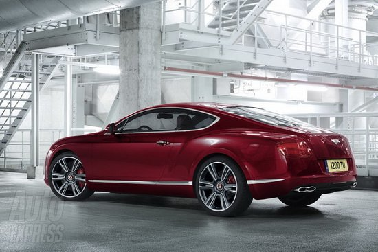 宾利欧陆GT V8车型发布 底特律车展亮相