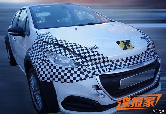 全新紧凑级车型 东风D53测试车谍照曝光