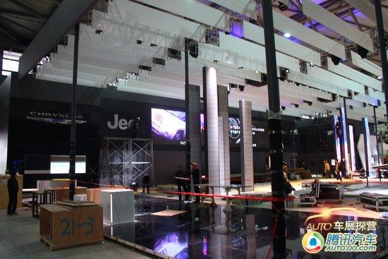 上海车展探营报道 E7馆不算奢华的豪车馆
