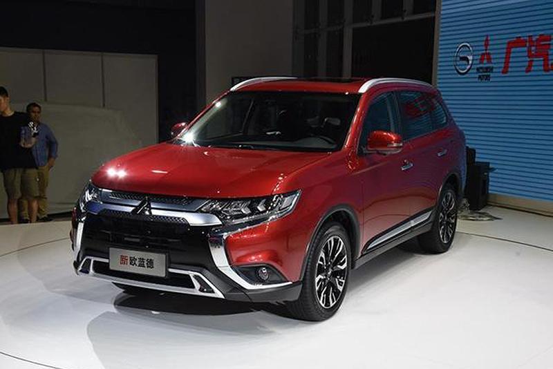 新款欧蓝德15.98万起售 共推7款车型