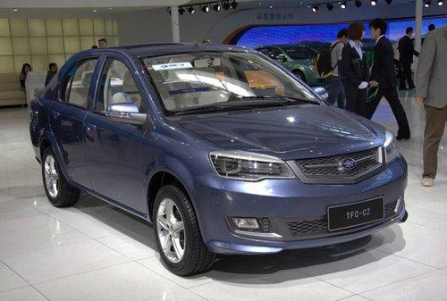 自主创新 天津一汽三款新车亮相北京车展