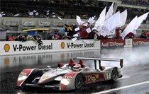 奥迪赛车多次夺得勒芒冠军
