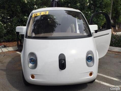 谷歌无人车以外观和舒适致胜