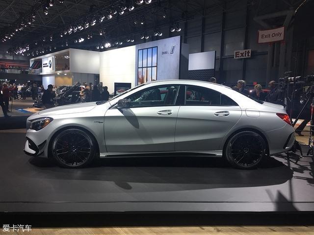 奔驰新款CLA/AMG CLA 45 纽约车展发布