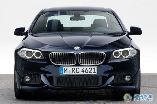 宝马新款550i四驱德国亮相 M套件同时发布