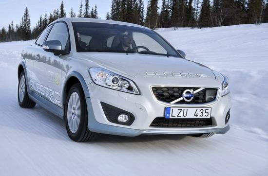 沃尔沃C30电动车将向部分欧洲客户交付车辆