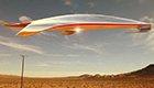 法拉利公司设计流线形飞行器 外型颇似UFO
