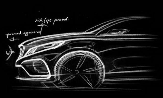 吉利混动旗舰K车型设计图曝光 动感流畅