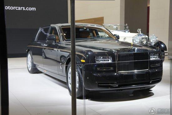 [新车解析]劳斯莱斯幻影II加长版车展亮相