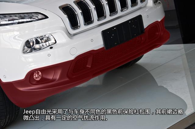 [新车实拍]Jeep自由光到店实拍 充满颠覆性