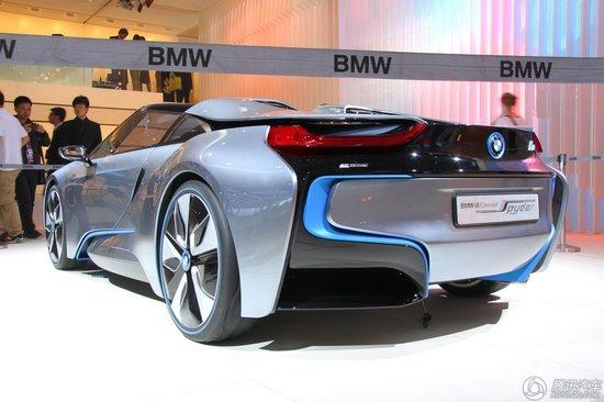 [新车解析]宝马i8 Spyder概念车车展发布