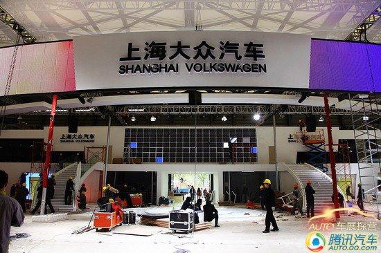 上海车展探营报道 E1馆成为上海汽车主战场