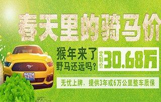 郑州特惠 野马直降8.76万