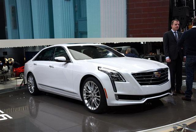 凯迪拉克将推多款混动新车 CT6明年上市
