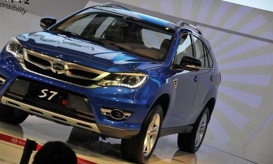 2013上海车展:比亚迪全新SUV S7首发