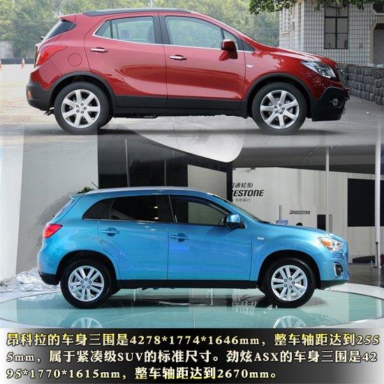 过去几年,中国的乘用车市场经历了好几次类型车新车型发布井喷,从城市SUV,B级车,一直到A级车,而现在,一个新的类型车新车发布井喷即将到来,那就是紧凑级城市SUV。这个级别一度仅有逍客一款车撑场面,但现在有了昂科拉这款实力车型加入,福特的翼搏也即将发布,最近才发布的广汽三菱ASX劲炫虽然尺寸比前面提到的车型稍大,但是它的价格却与它们一样具有竞争力。