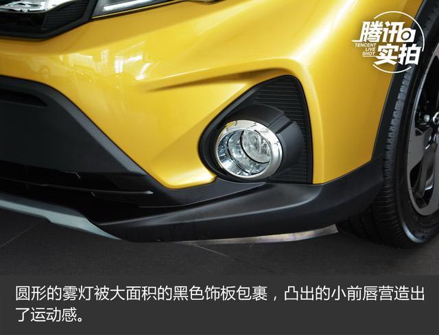 主攻年轻市场 实拍 传祺GS3 200T自动豪华版