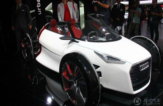 奥迪Urban Concept概念车首发 双座设计
