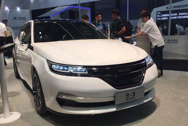 NEVS纯电动及概念量产车迎来首秀 续航超过300公里