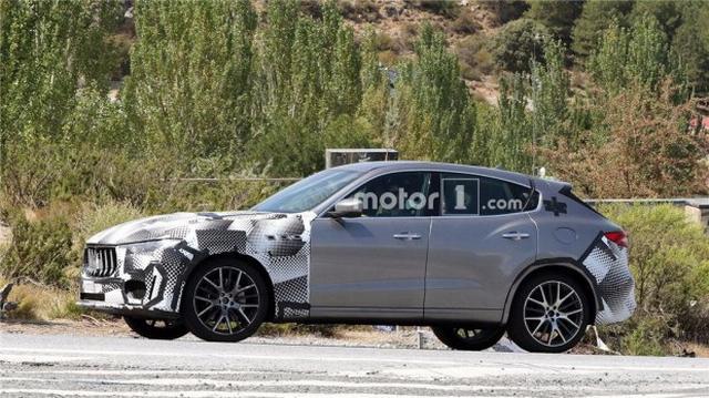极品SUV将改款 曝新款玛莎拉蒂Levante谍照